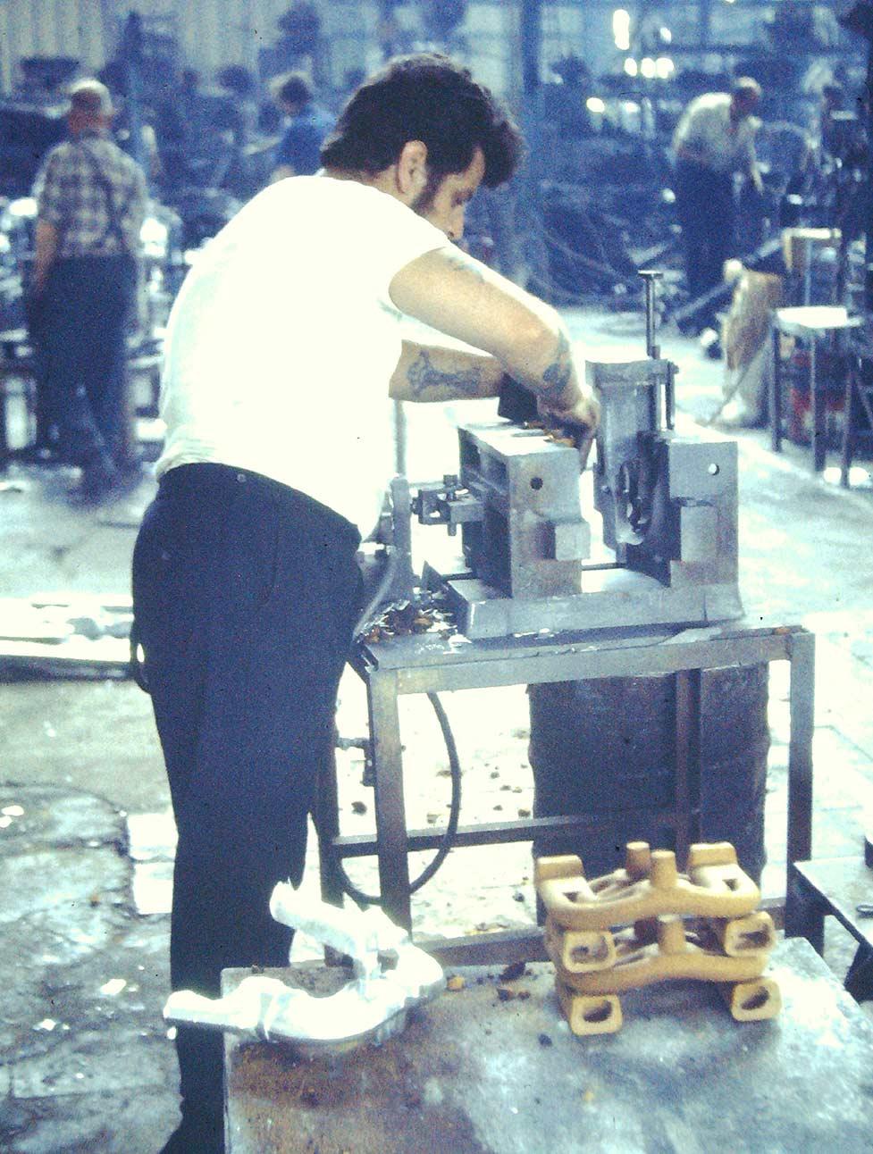 JHL Gravity Foundry 1960's