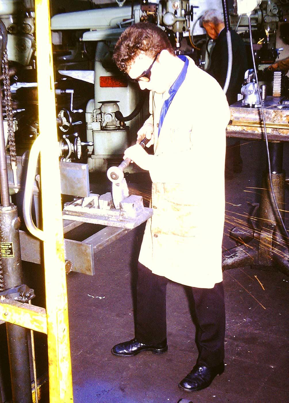 JHL Employee-Albert Bullivant 1970's