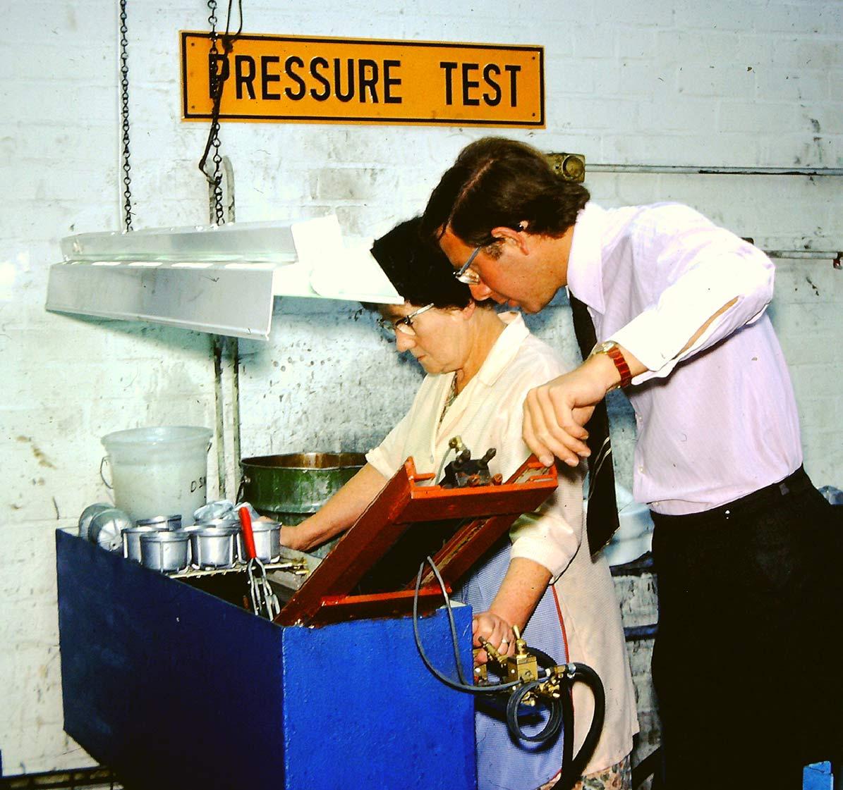 JHL Pressure Testing 1970's