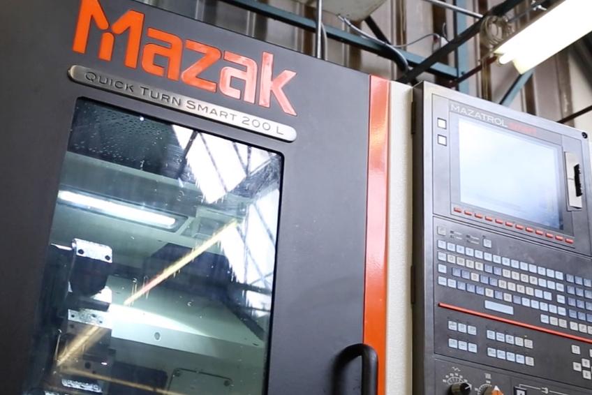 JHL Mazak Quick Turn Smart 200L